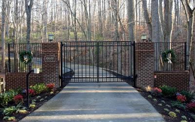 driveway gate installation instructions