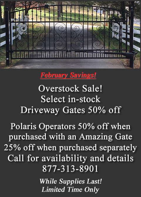 Custom Gate Sale