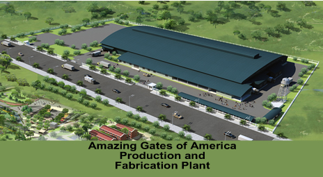 Amazing Gates Manufacturing Facility
