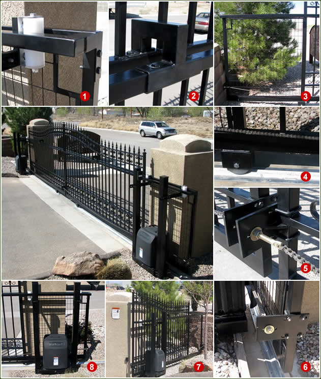 Wrought Iron Sliding Gates Slide Driveway Gates Amazing Gates