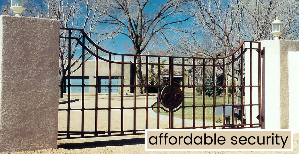 Wrought Iron Driveway Gates Fence Automatic Gates