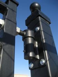 Driveway gate posts heavy duty steel driveway gate posts for Driveway gate hardware heavy duty
