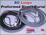 BD Preformed Loop with 100 ft. Lead Cable