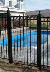 Pool Fence and Gate Photo