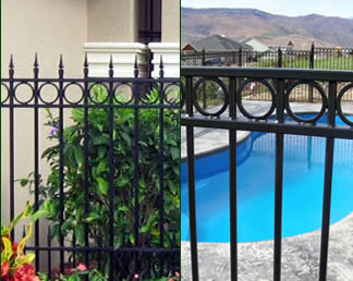Wrought Iron Fence and Pool Fence