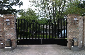 Custom Driveway Gates and Fence
