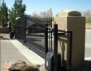 Rolling Sliding Gate Styles Driveway Gates Amazing Gates