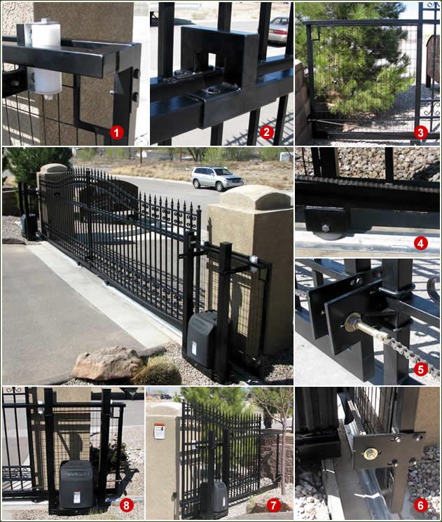 Wrought Iron Sliding Gates Slide Driveway Gates