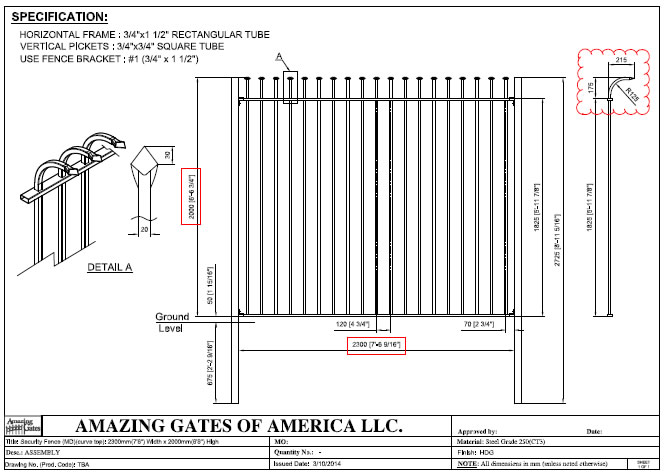 Ornamental Wrought Iron Security Fence Panels For Gardens