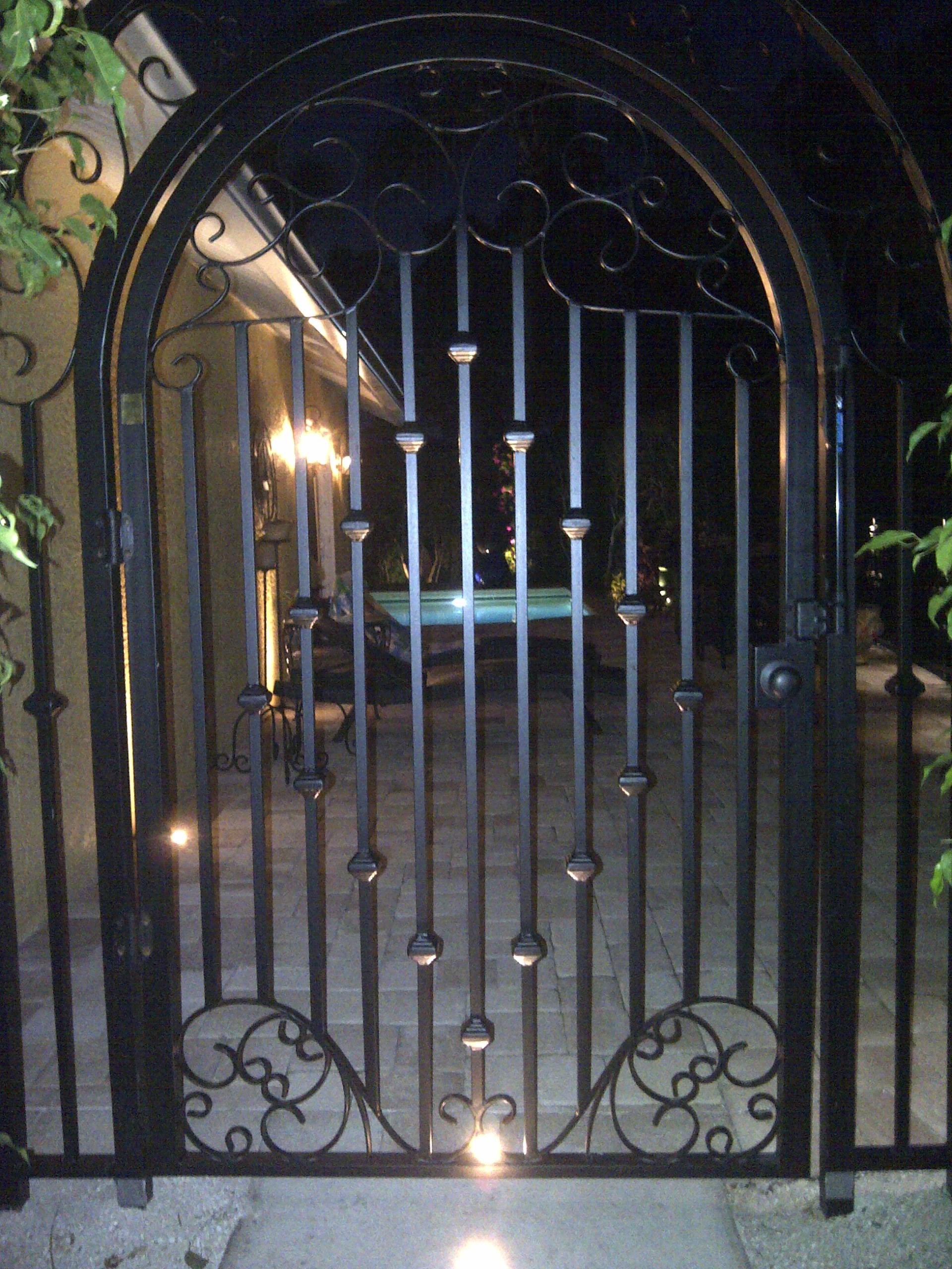 Wrought Iron Gate Hardware Posts Latches Locks Hinges