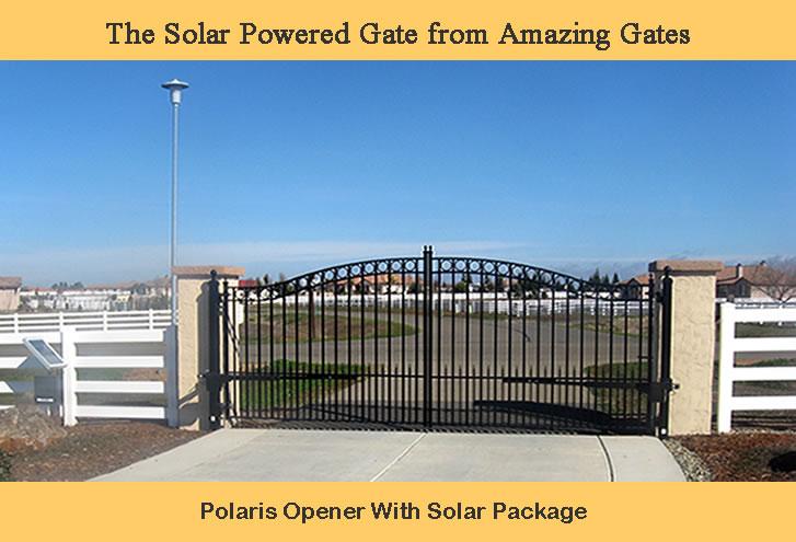 Solar Gate Openers Solar Gate Operators Solar Driveway