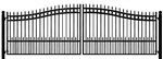 Concord Swing Driveway Gate