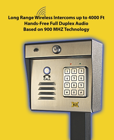Aeromax Wireless Intercom Keypad