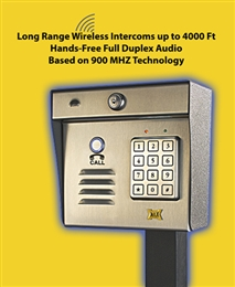 Aeromax Wireless Intercom Keypad